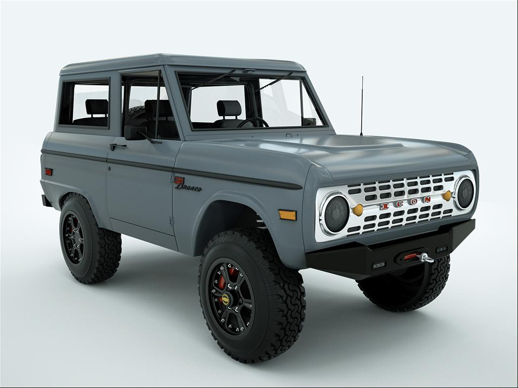 Icon4x4design S 1968 Ford Bronco In Van Nuys Ca