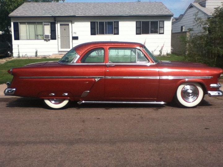 1954 ford coupe specs for 1954 ford mainline 2 door sedan sale