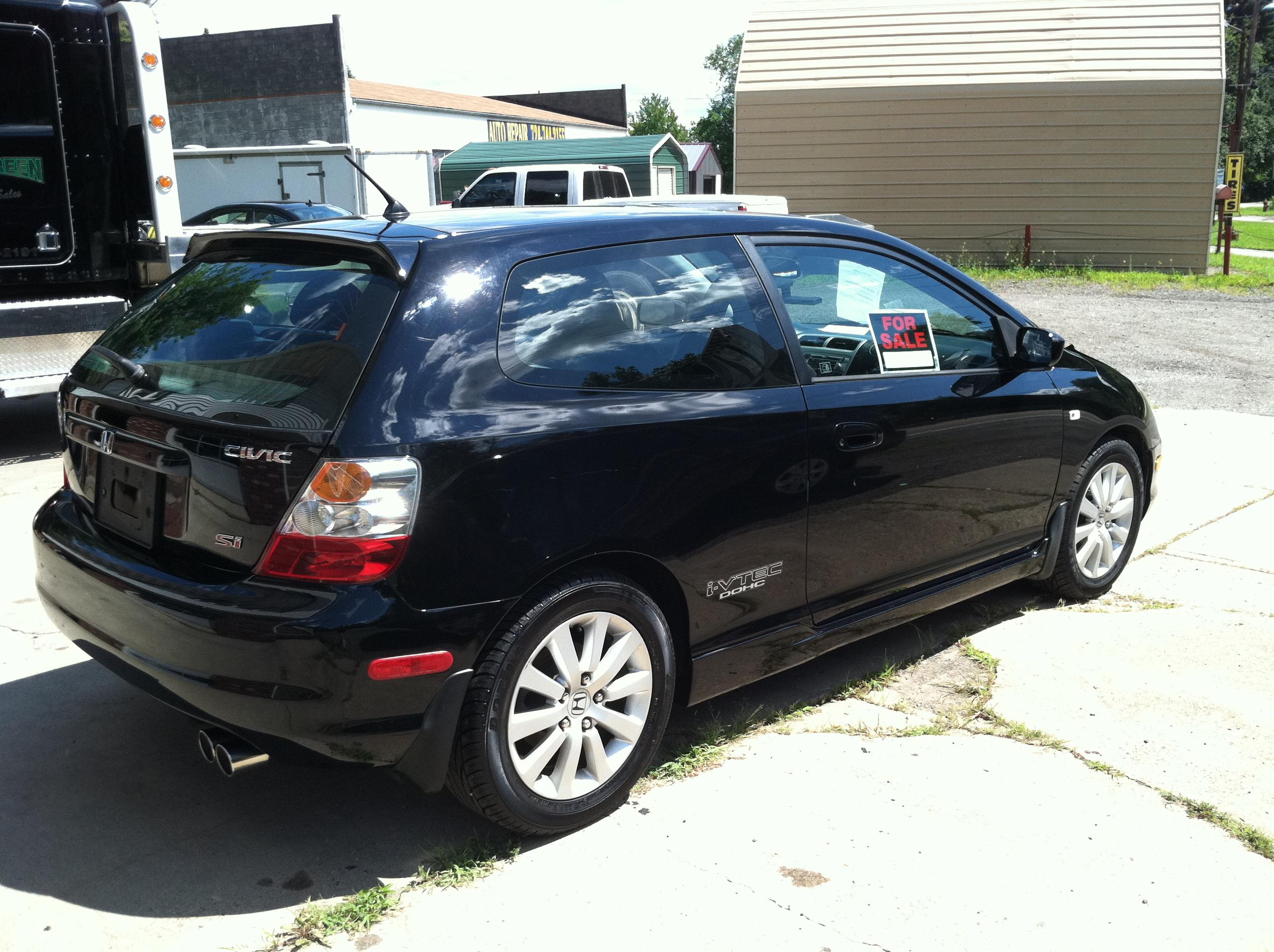civic75 2005 honda civicsi hatchback 2d specs photos. Black Bedroom Furniture Sets. Home Design Ideas