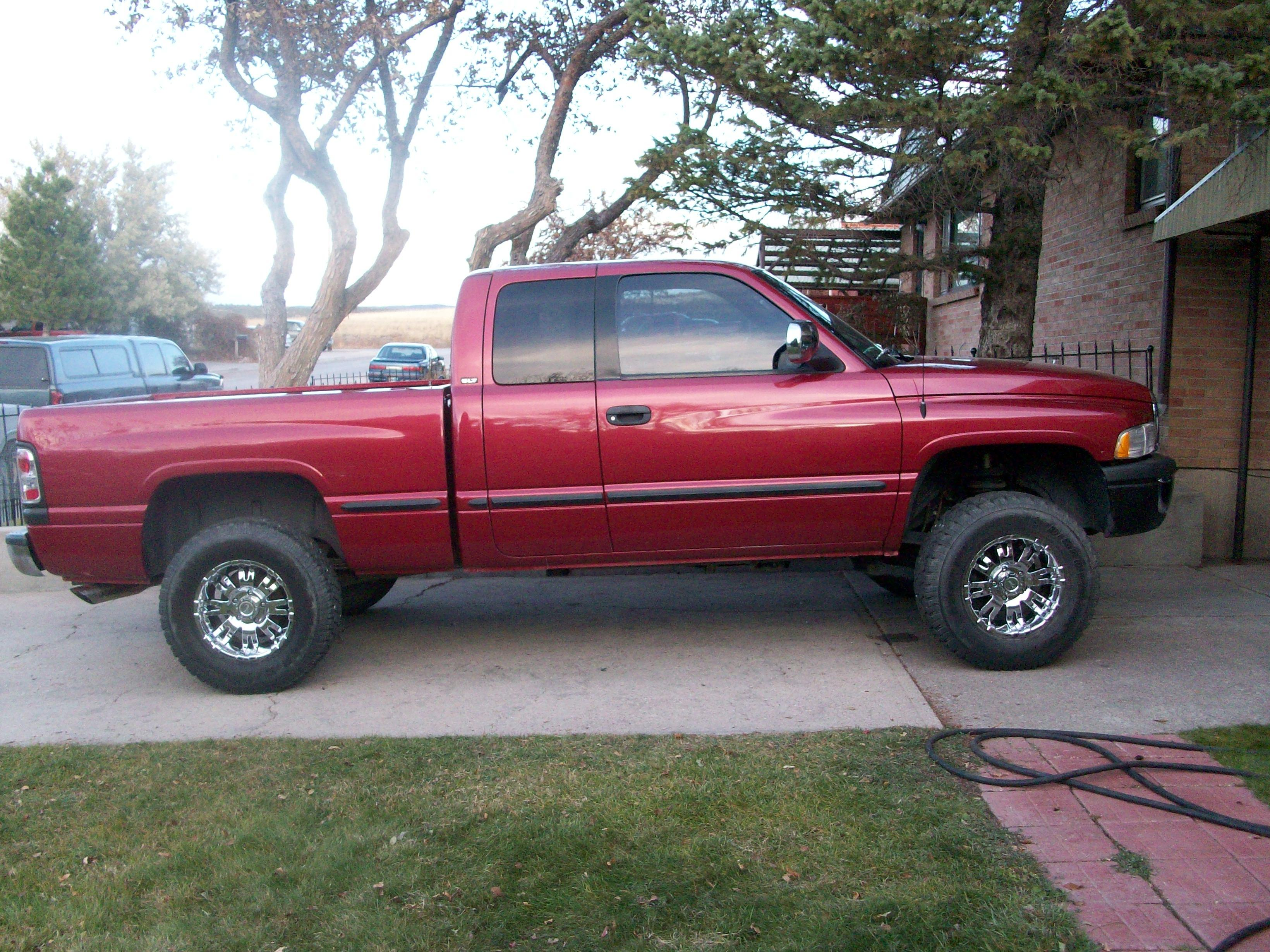 Bigreddodgetruck 1999 Dodge Ram 1500 Quad Cabshort Bed