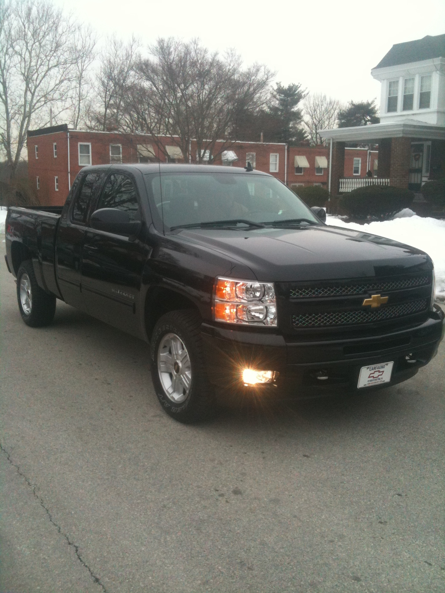 allblkeverthing 2011 chevrolet silverado 1500 extended cablt specs photos modification info at. Black Bedroom Furniture Sets. Home Design Ideas
