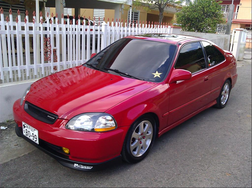 Gaby Honda 1996 Honda Civicex Coupe 2d Specs Photos