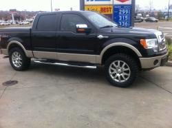 bridours 2010 Ford F150 SuperCrew Cab