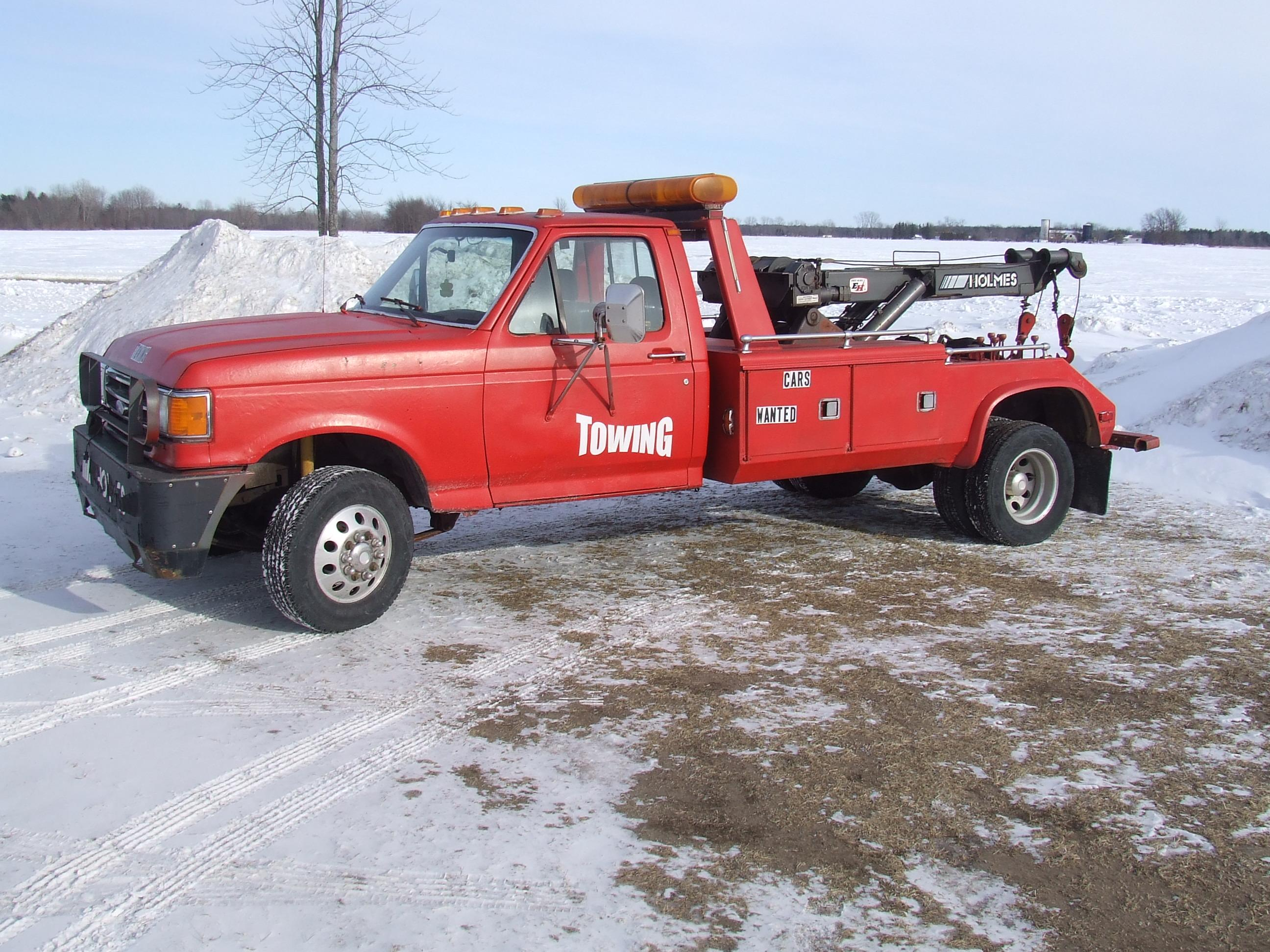 midnight_auto 1989 Ford F450 Super Duty Regular Cab & Chassis