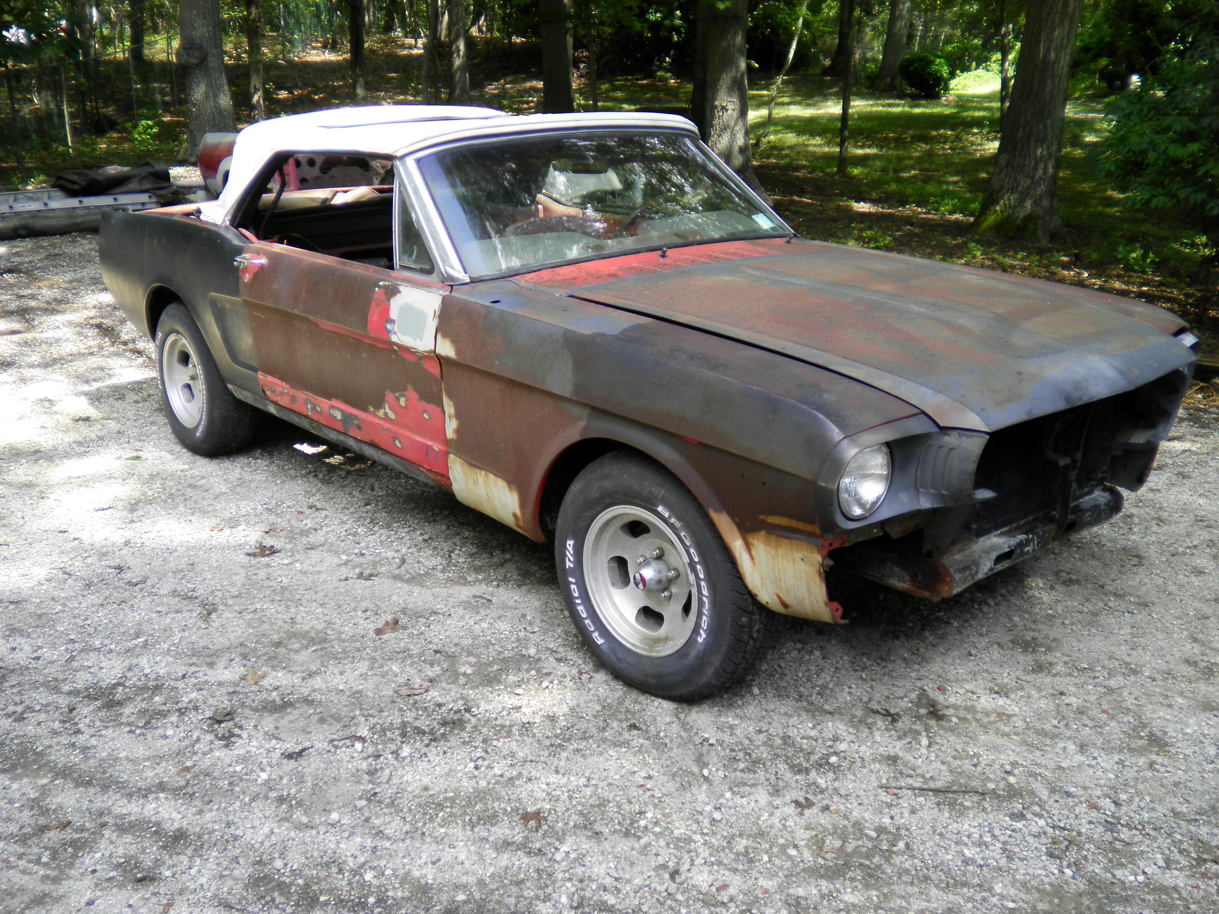 71steed 1965 Ford Mustang