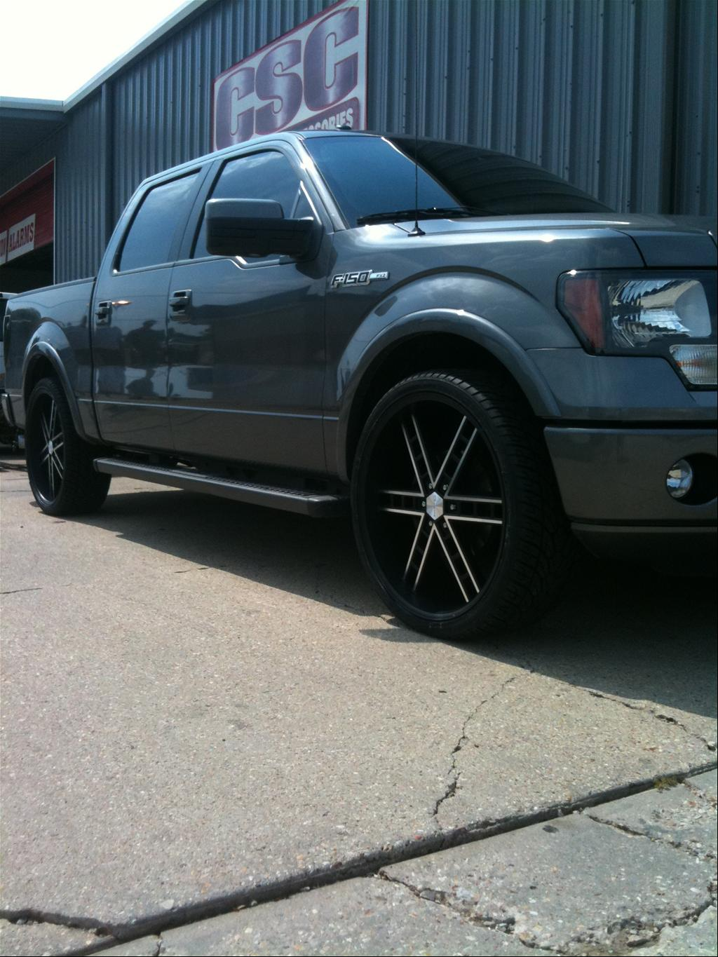 f150dubs 2011 Ford F150 SuperCrew Cab