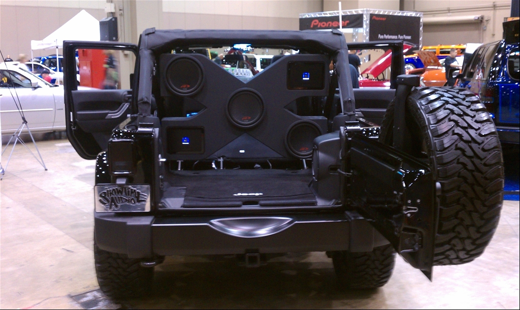 Custom Speaker Boxes For Jeep Wrangler