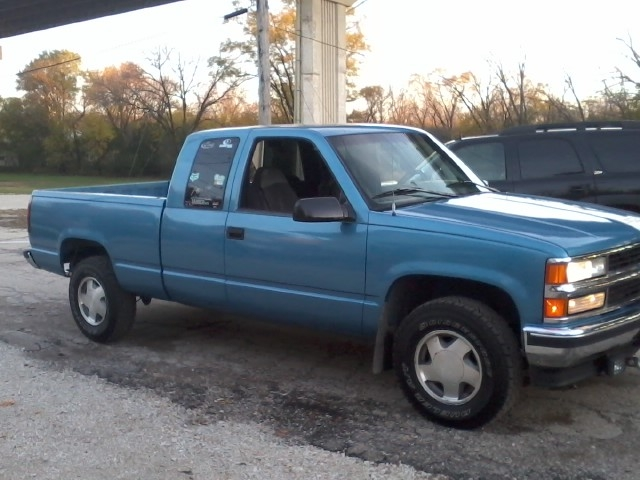 xatvfoxriderx 39 s 1996 chevrolet silverado 1500 extended cab in lockport il. Black Bedroom Furniture Sets. Home Design Ideas