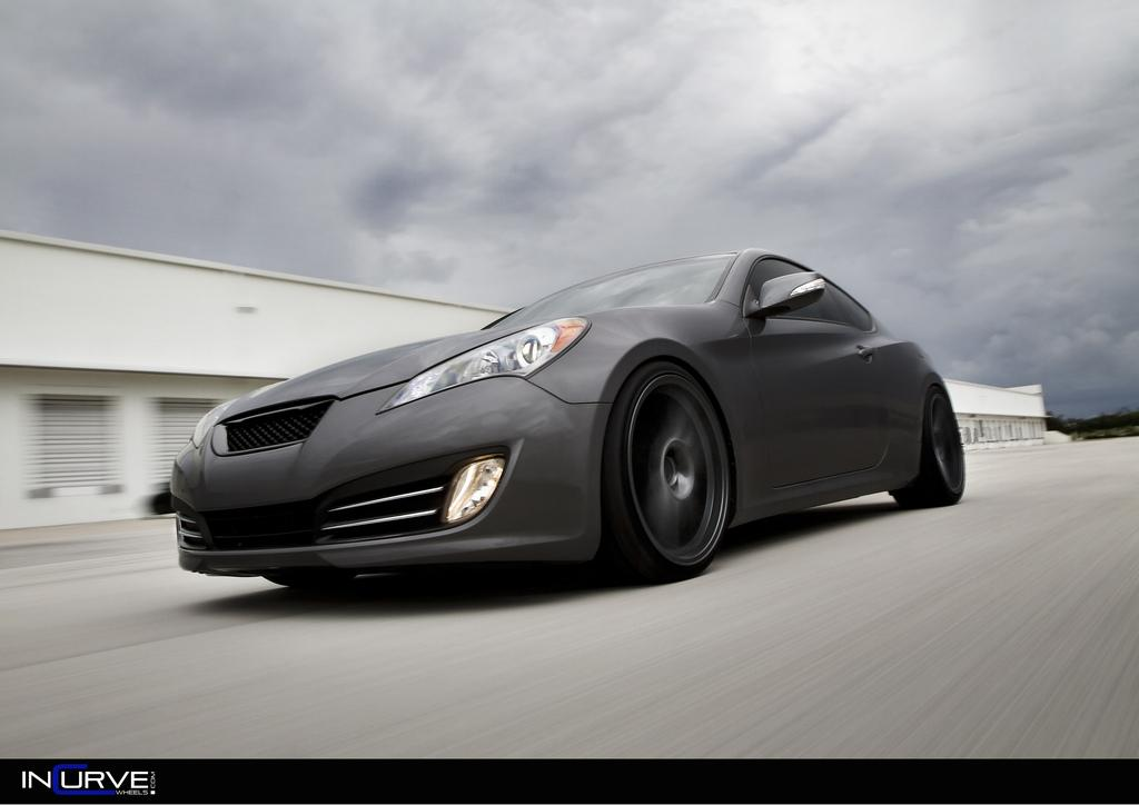 incurvewheels 2010 hyundai genesis coupe3 8 grand touring. Black Bedroom Furniture Sets. Home Design Ideas