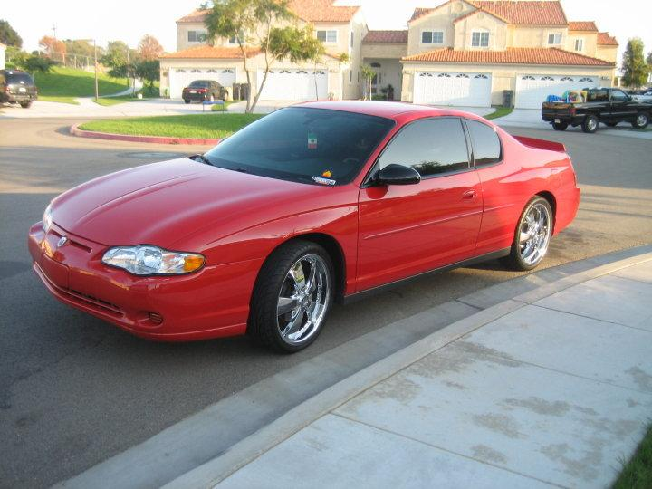 Original on 2005 Chevy Monte Carlo