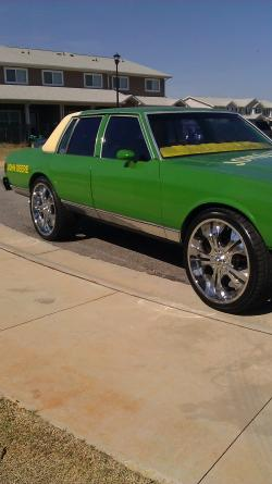youngboyron85 1983 Chevrolet Caprice Classic