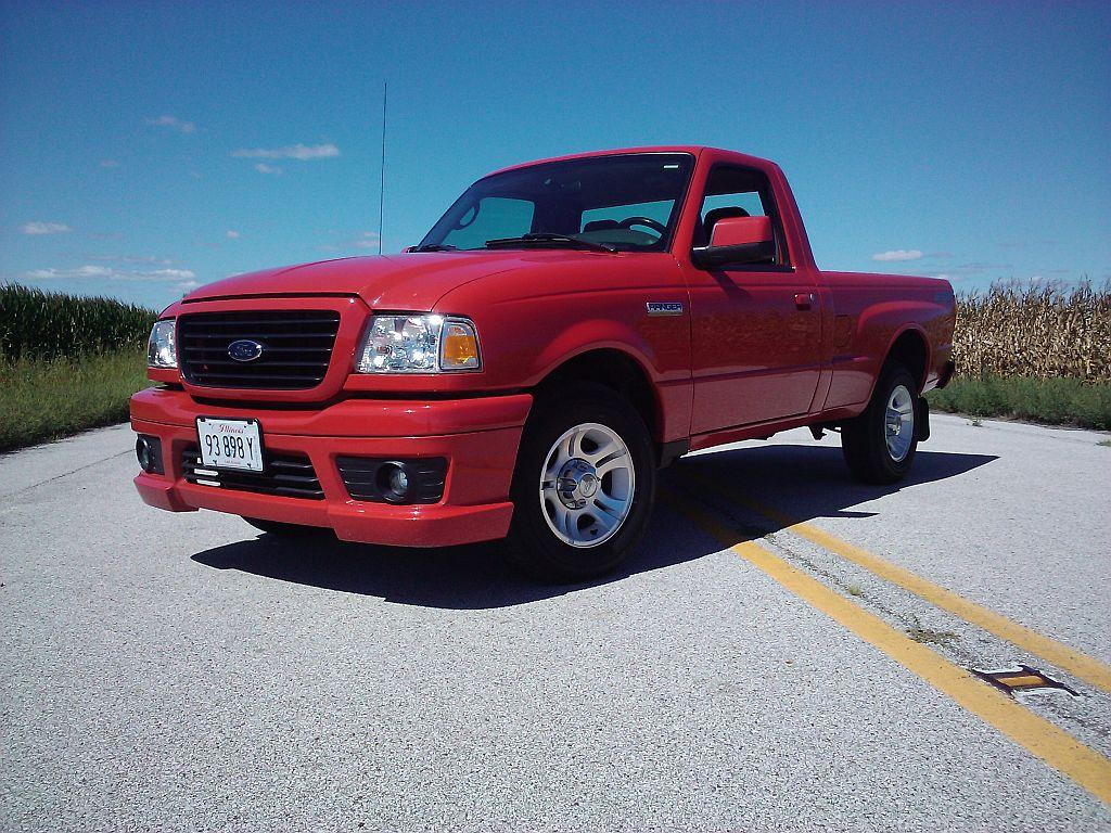2007 Ford Ranger-Regular-Cab