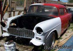 NudeAutomall 1955 Chevrolet Delray
