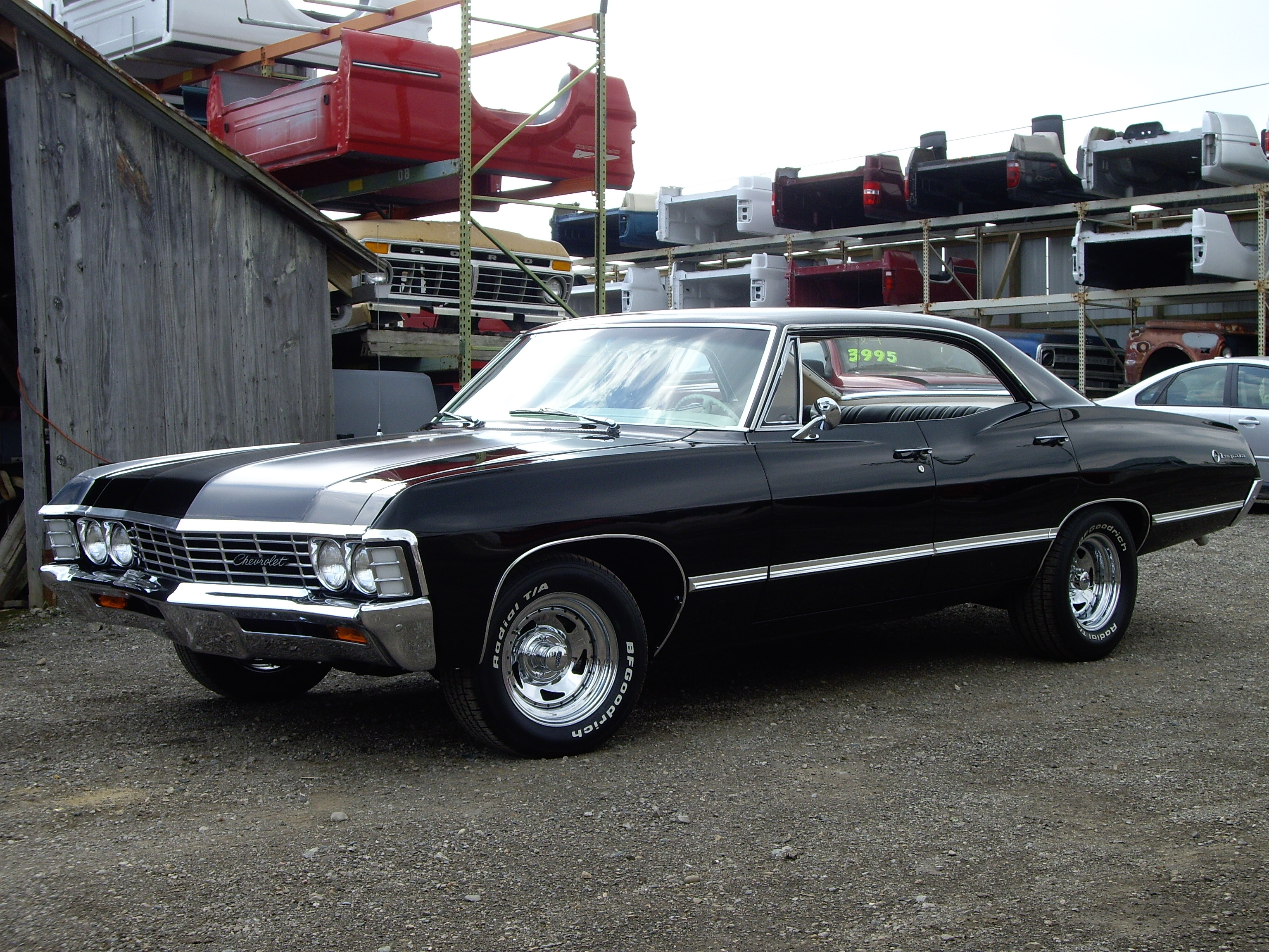 Outlaw 53 1967 Chevrolet Impala Specs Photos