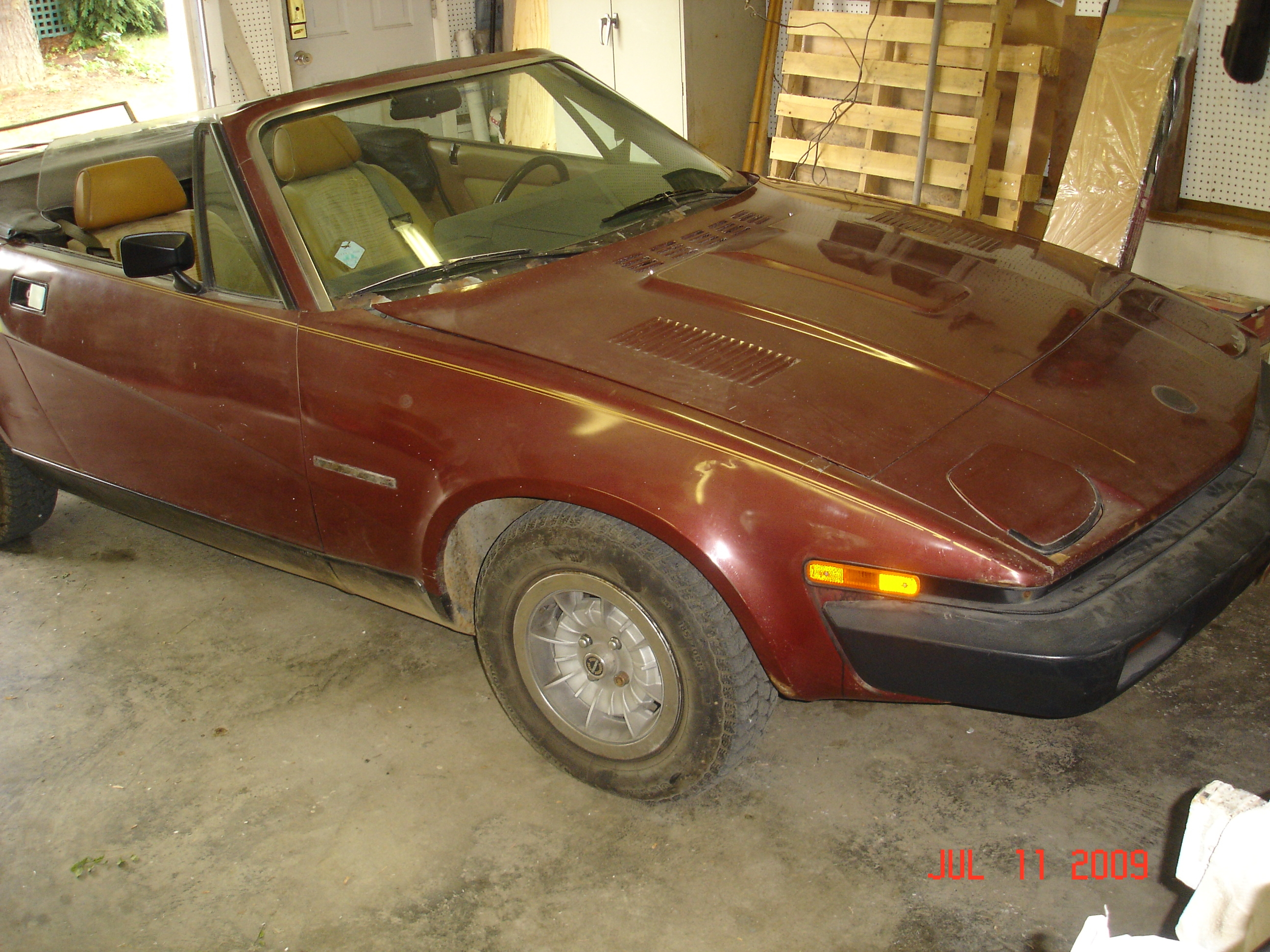 Another mgb4tim 1981 Triumph TR7 post... - 15266246