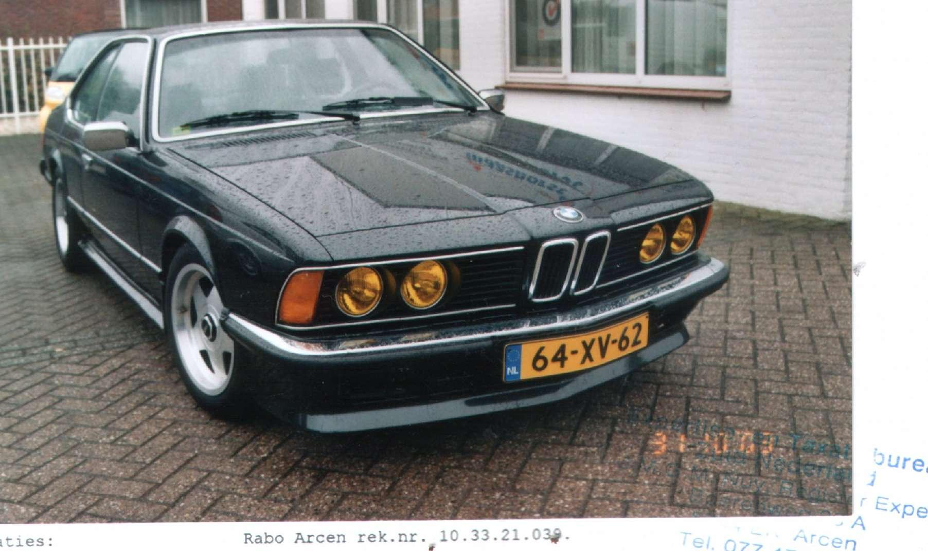 RexKinglive 1977 BMW 6 Series