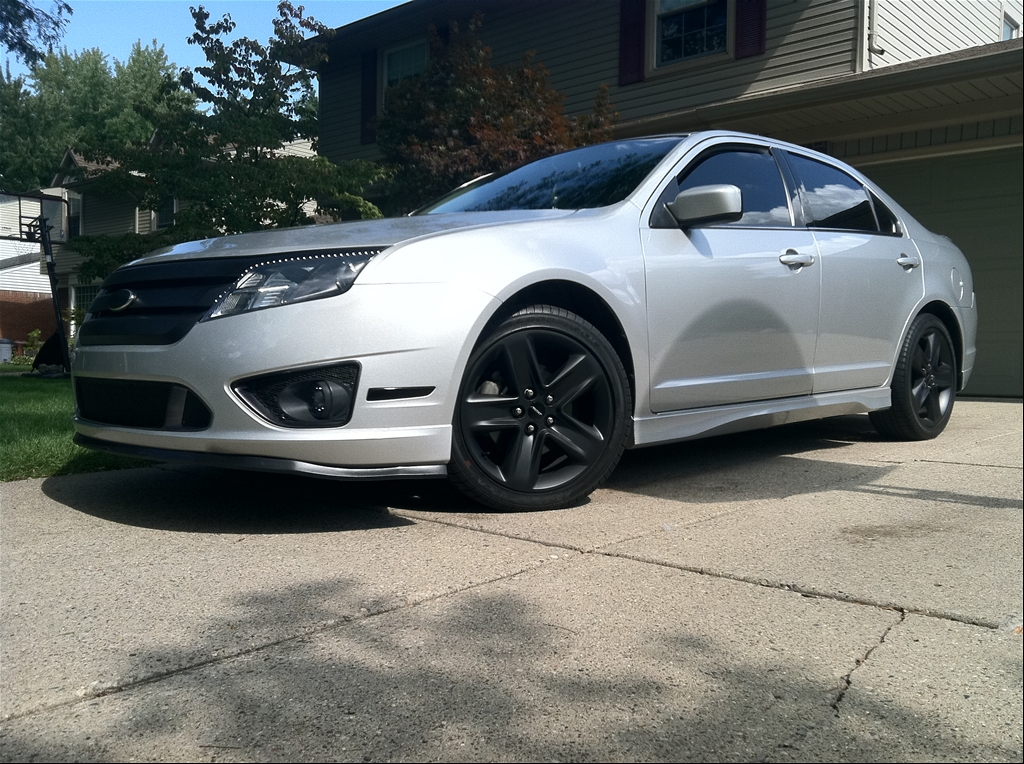 2010 ford fusion black rims report this image 2008 2010 ford fusion - 2010 Ford Fusion Custom Rims