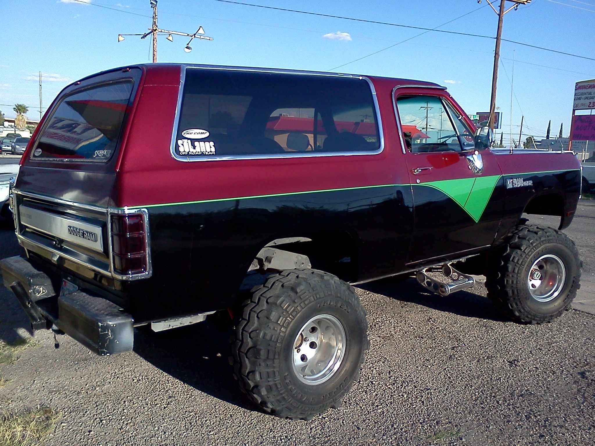 Red Ford Fusion >> 84RAMMER 1984 Dodge Ramcharger Specs, Photos, Modification
