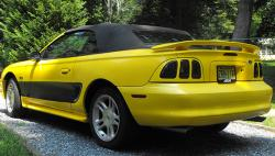 blaqkelectriqks 1996 Ford Mustang