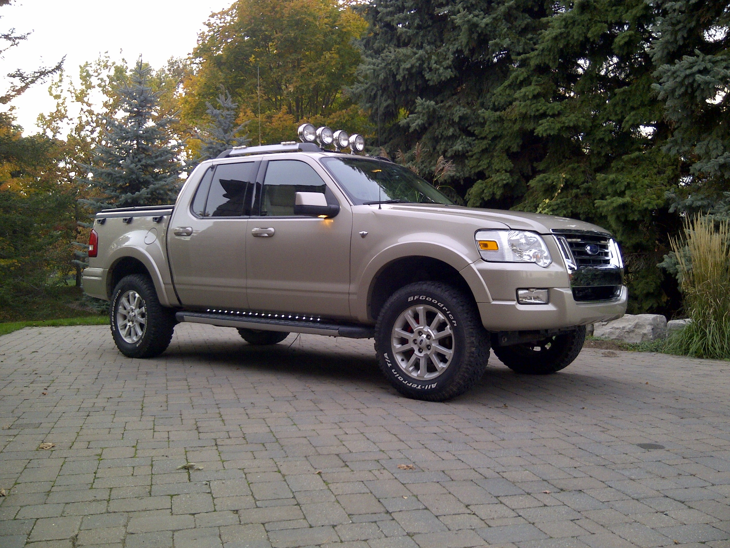 rintoul  ford explorer sport traclimited sport utility pickup   ft specs