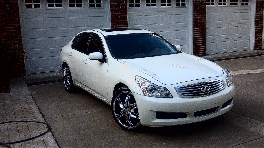 dswine 39 s 2008 infiniti g g35x sedan 4d in roxboro nc. Black Bedroom Furniture Sets. Home Design Ideas