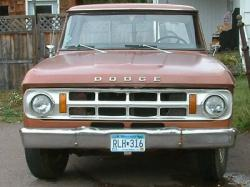 Timouth 1969 Dodge D250 Regular Cab