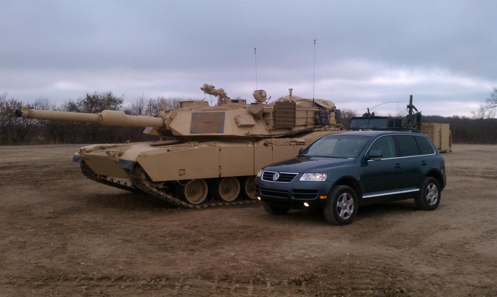 Army Tanker19k 2004 Volkswagen Touaregsport Utility 4d Specs Photos Modification Info At Cardomain