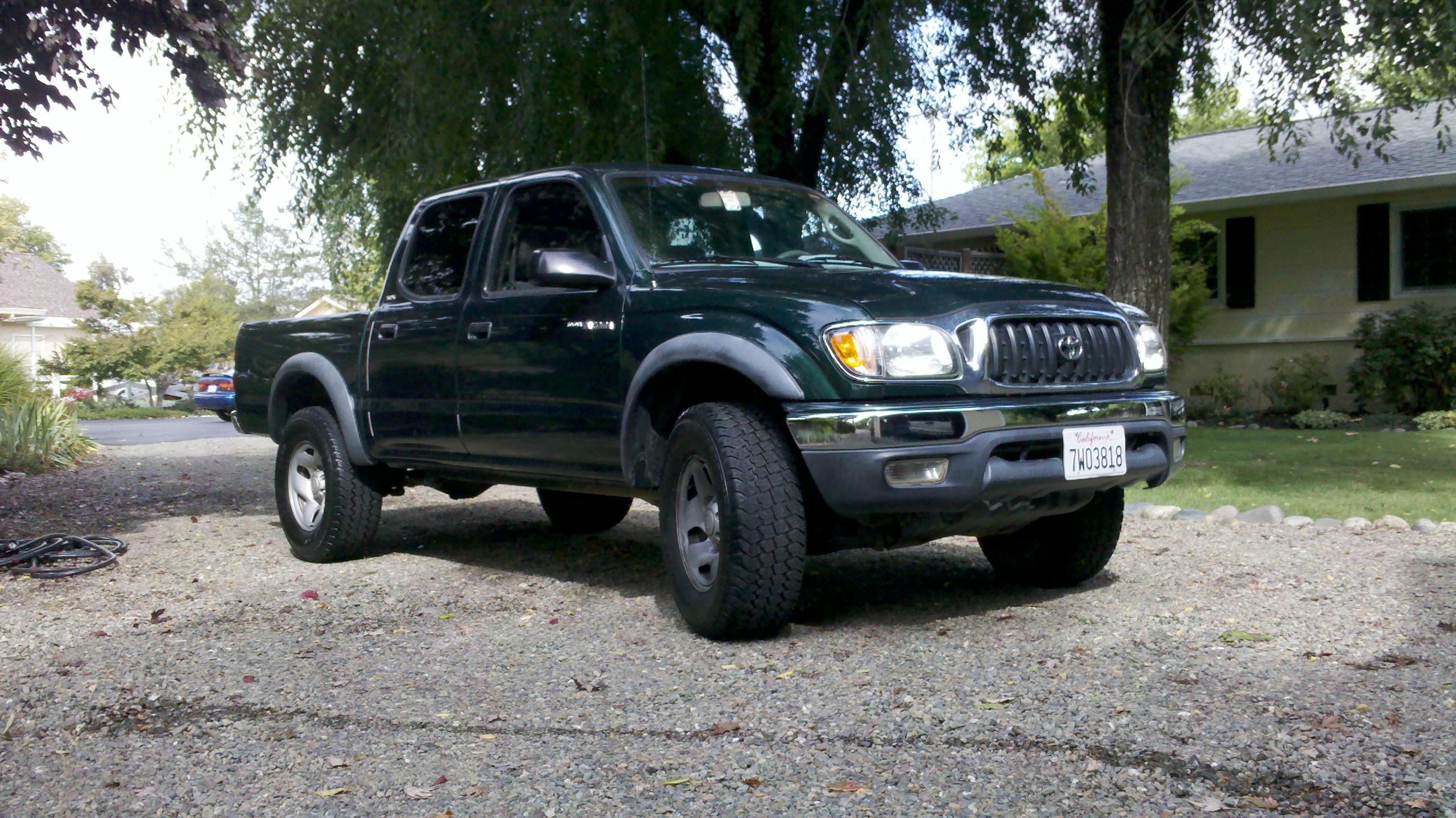 zschreeder 2002 toyota tacoma double cabprerunner 4d specs photos modification info at cardomain. Black Bedroom Furniture Sets. Home Design Ideas