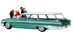 christo1 1961 Ford Country Squire