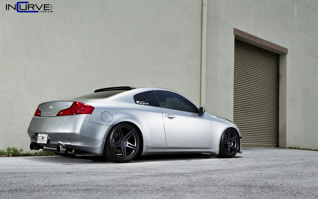 incurvewheels 39 s 2005 infiniti g g35 coupe 2d in fort. Black Bedroom Furniture Sets. Home Design Ideas