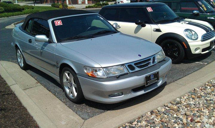chevyman sims 2003 saab 9 3se convertible 2d specs photos modification info at cardomain. Black Bedroom Furniture Sets. Home Design Ideas