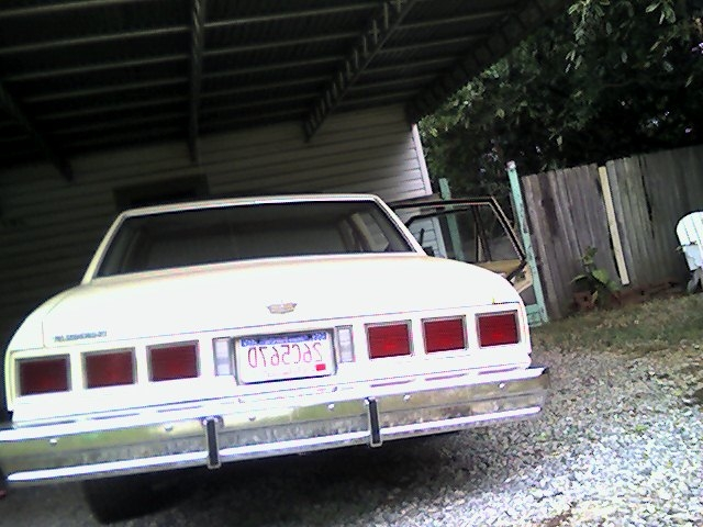 Imaines 1980 Chevrolet Caprice Classic 6 TAIL LIGHTS 198085 LOVE 2 SEE