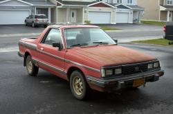 Islandsubarus 1985 Subaru Brat