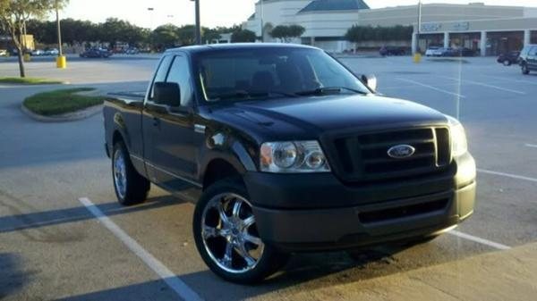 iamdjwall 2006 ford f150 regular cabxl styleside pickup 4d 6 1 2 ft specs photos modification. Black Bedroom Furniture Sets. Home Design Ideas