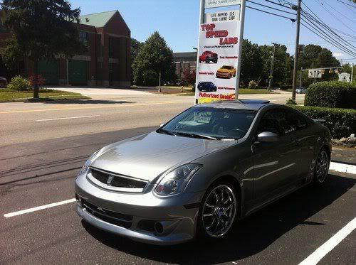 wkdmx3gsr 2005 infiniti gg35 coupe 2d specs photos modification info at cardomain. Black Bedroom Furniture Sets. Home Design Ideas