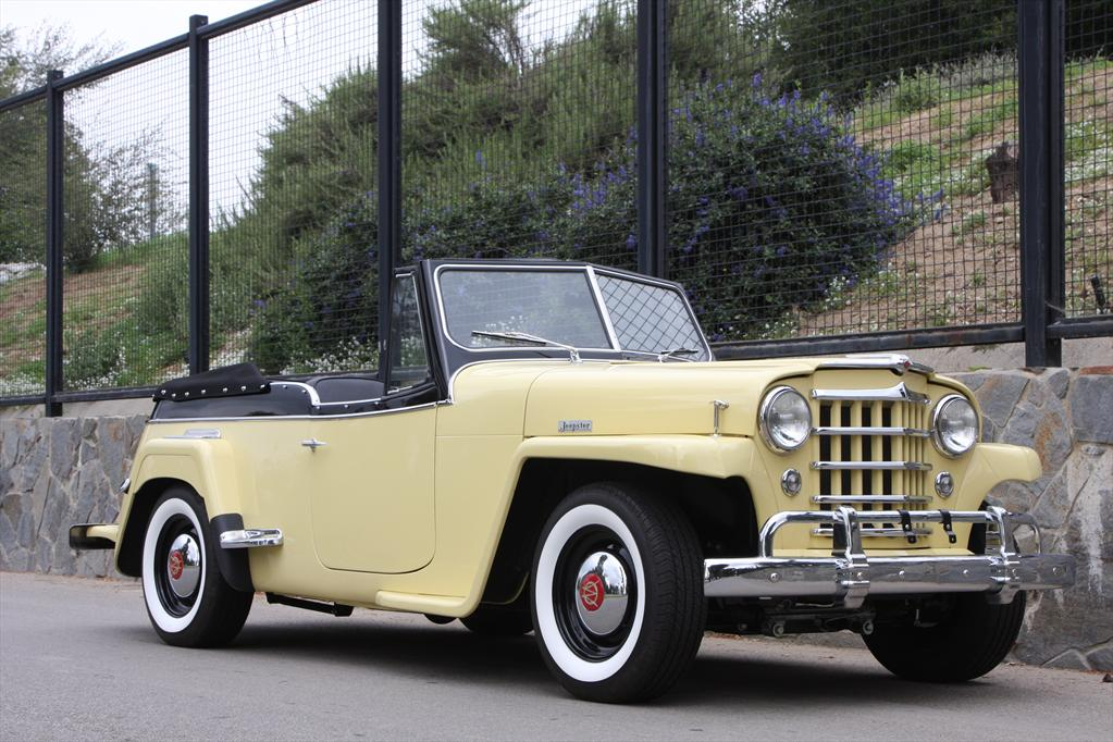 ICON4x4Design's 1951 Willys Jeepster
