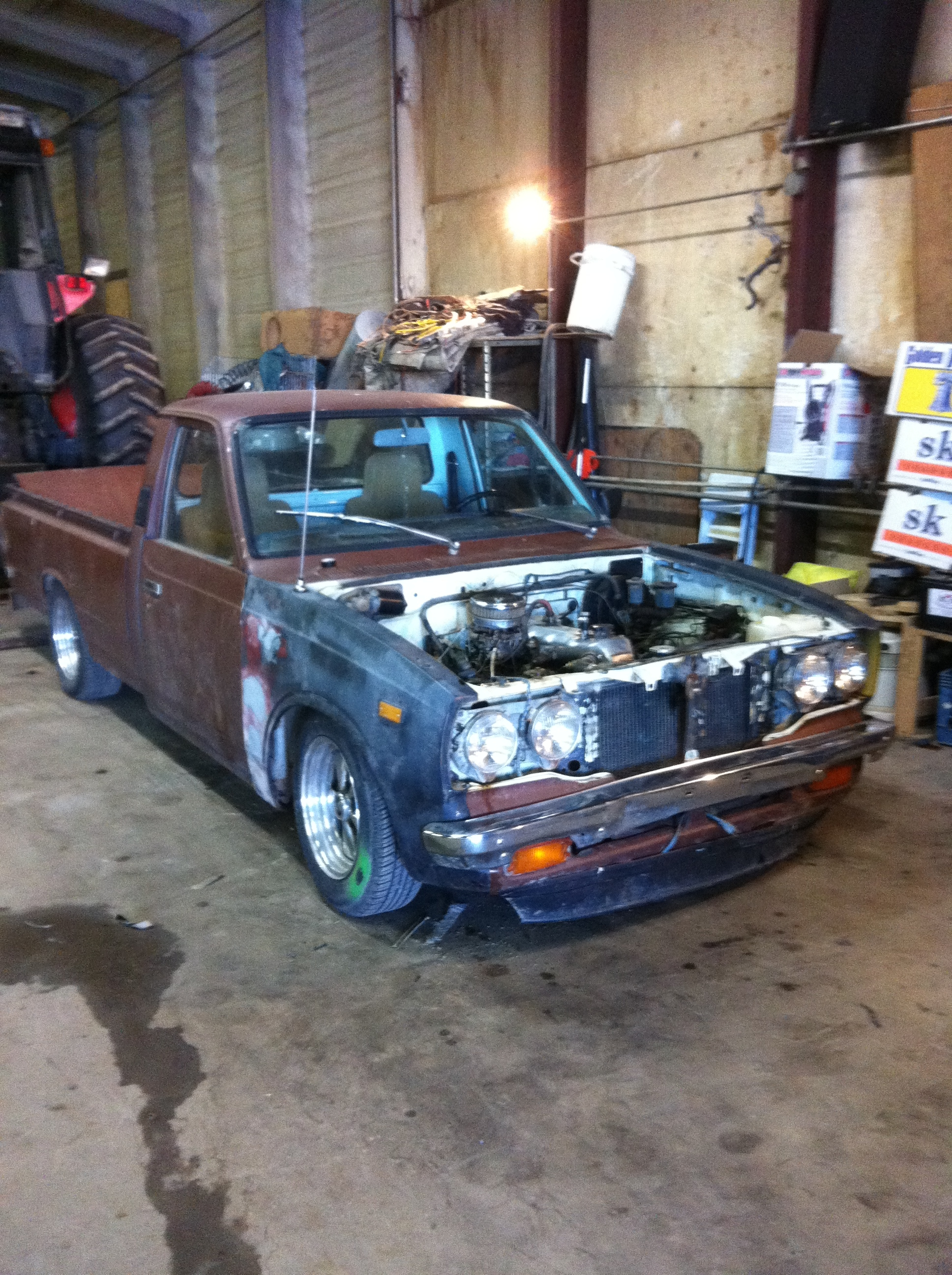 Another 79silverbu 1974 Toyota HiLux post... - 15488813