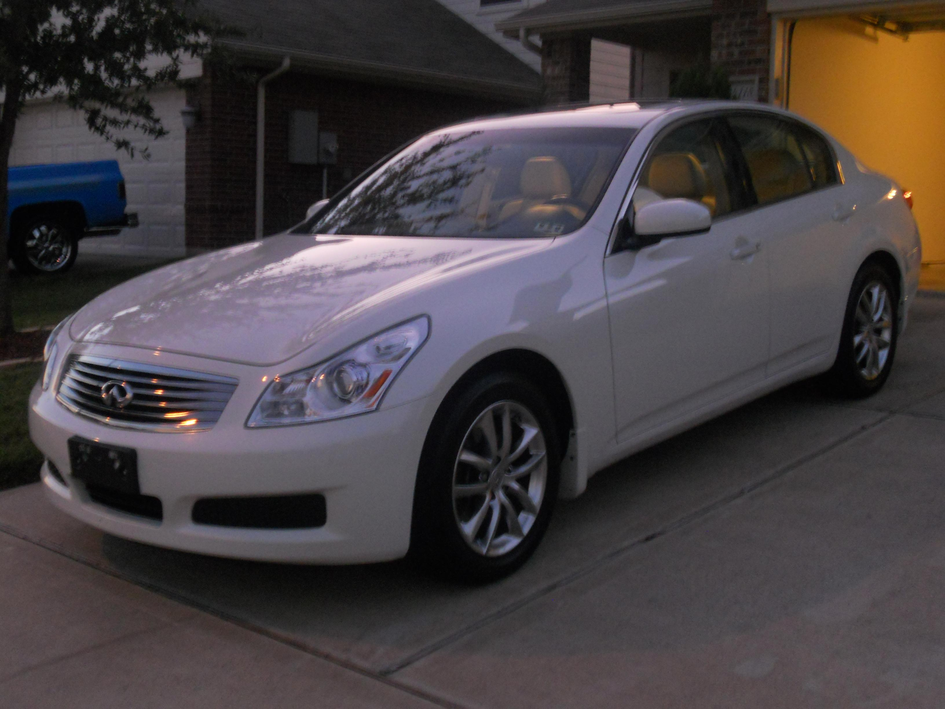 uniquesoul73 39 s 2008 infiniti g g35x sedan 4d in houston tx. Black Bedroom Furniture Sets. Home Design Ideas