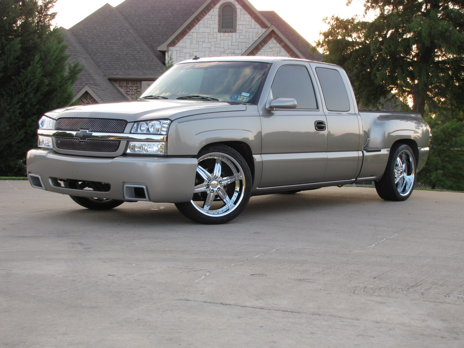 MrRelentless 2003 Chevrolet Silverado 1500 Extended Cab
