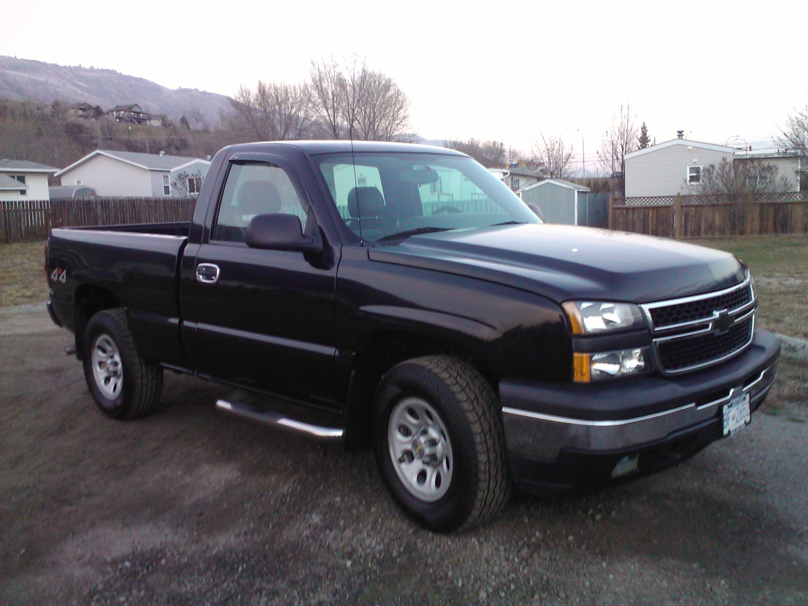 elcool 2007 chevrolet silverado classic 1500 regular cab. Black Bedroom Furniture Sets. Home Design Ideas