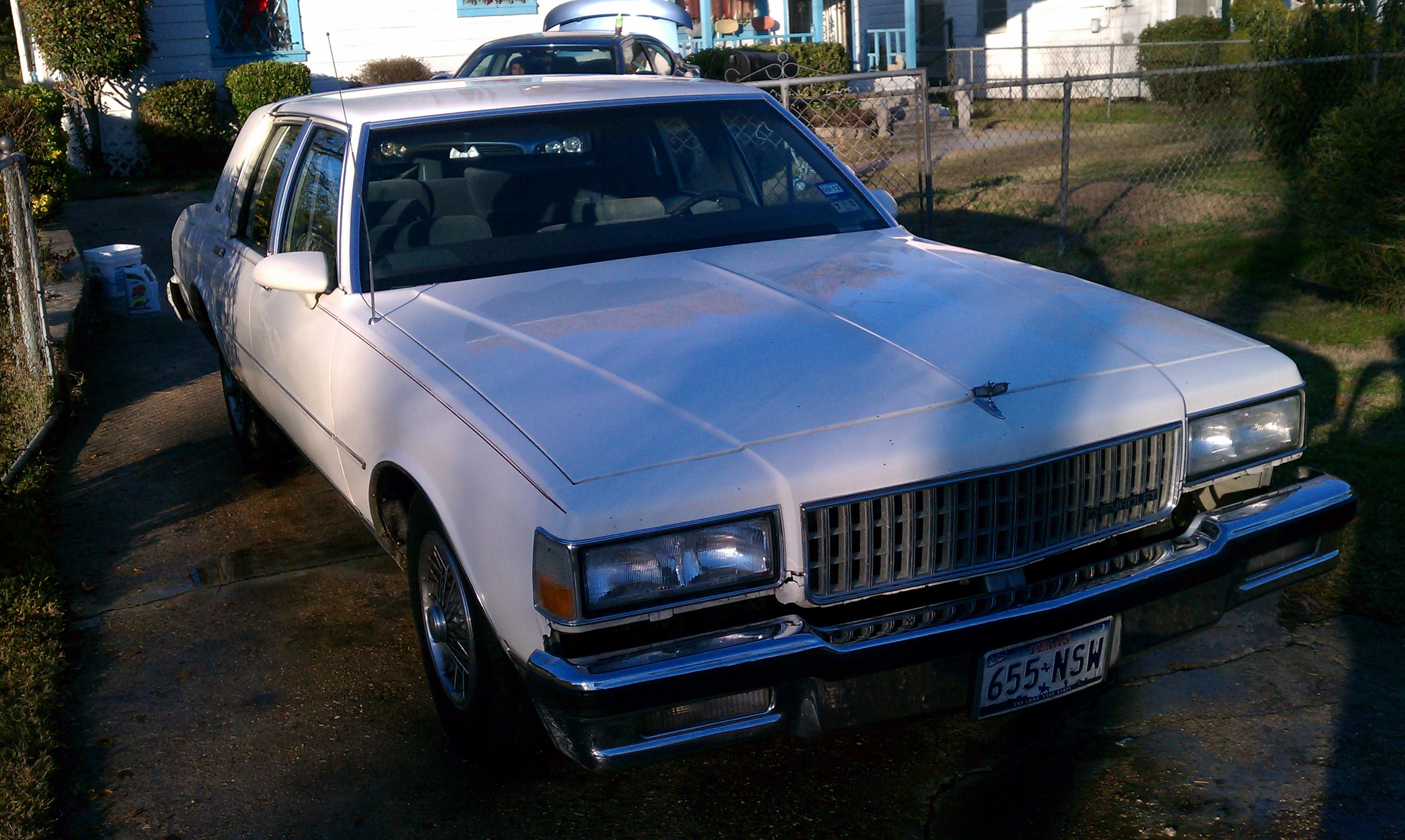 chargerb 1990 chevrolet capriceclassic brougham ls sedan 4d specs photos modification info at cardomain cardomain
