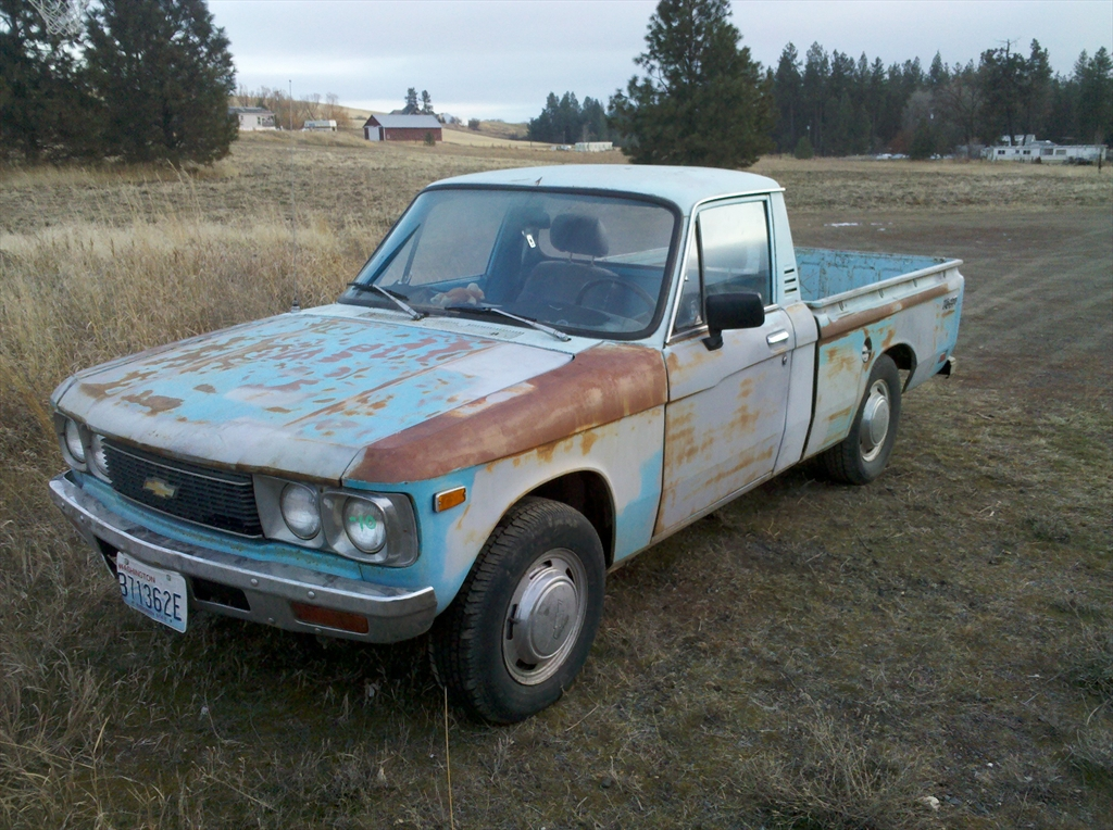 1976 chevy luv mikado for sale autos post. Black Bedroom Furniture Sets. Home Design Ideas