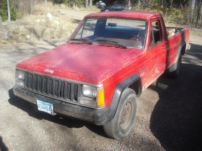 Another CalcadeLegallow 1986 Jeep Comanche Regular Cab post... - 15562550