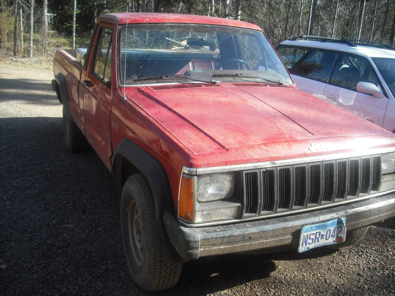 Another CalcadeLegallow 1986 Jeep Comanche Regular Cab post... - 15562551