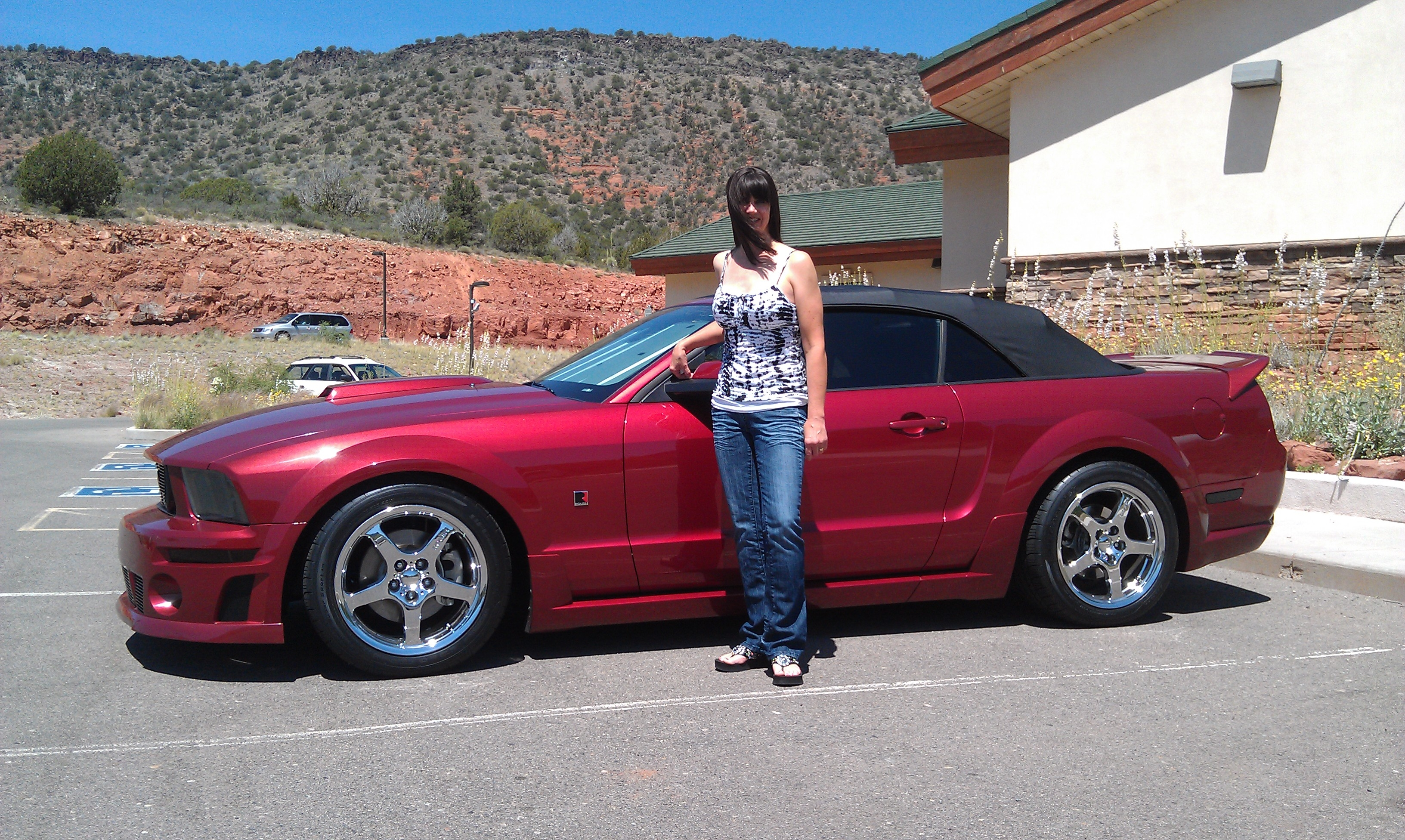 Another wheeln 2006 Ford Mustang post... - 15783802