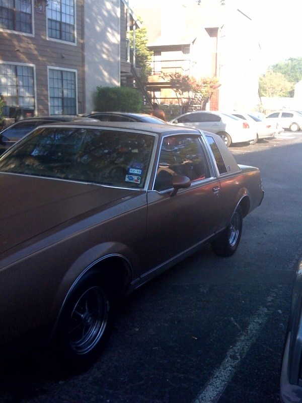TEXAZMADE713 1985 Buick Regal 14305297