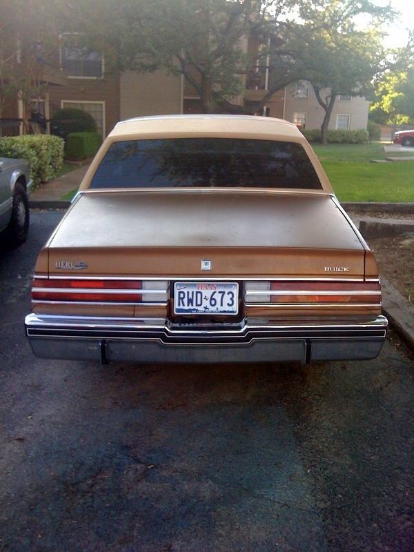 TEXAZMADE713 1985 Buick Regal 14305299