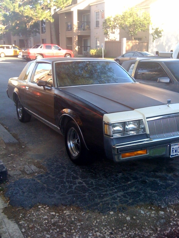 TEXAZMADE713 1985 Buick Regal 14305306