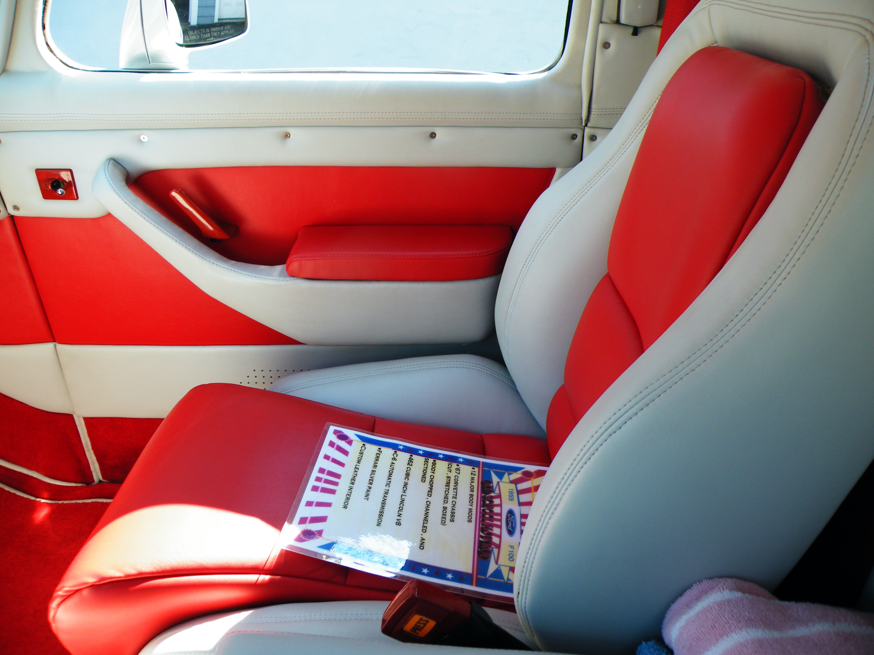 Marks Firebird 1955 Ford F 1 Specs Photos Modification Info At F100 Paint 39736834025 Original