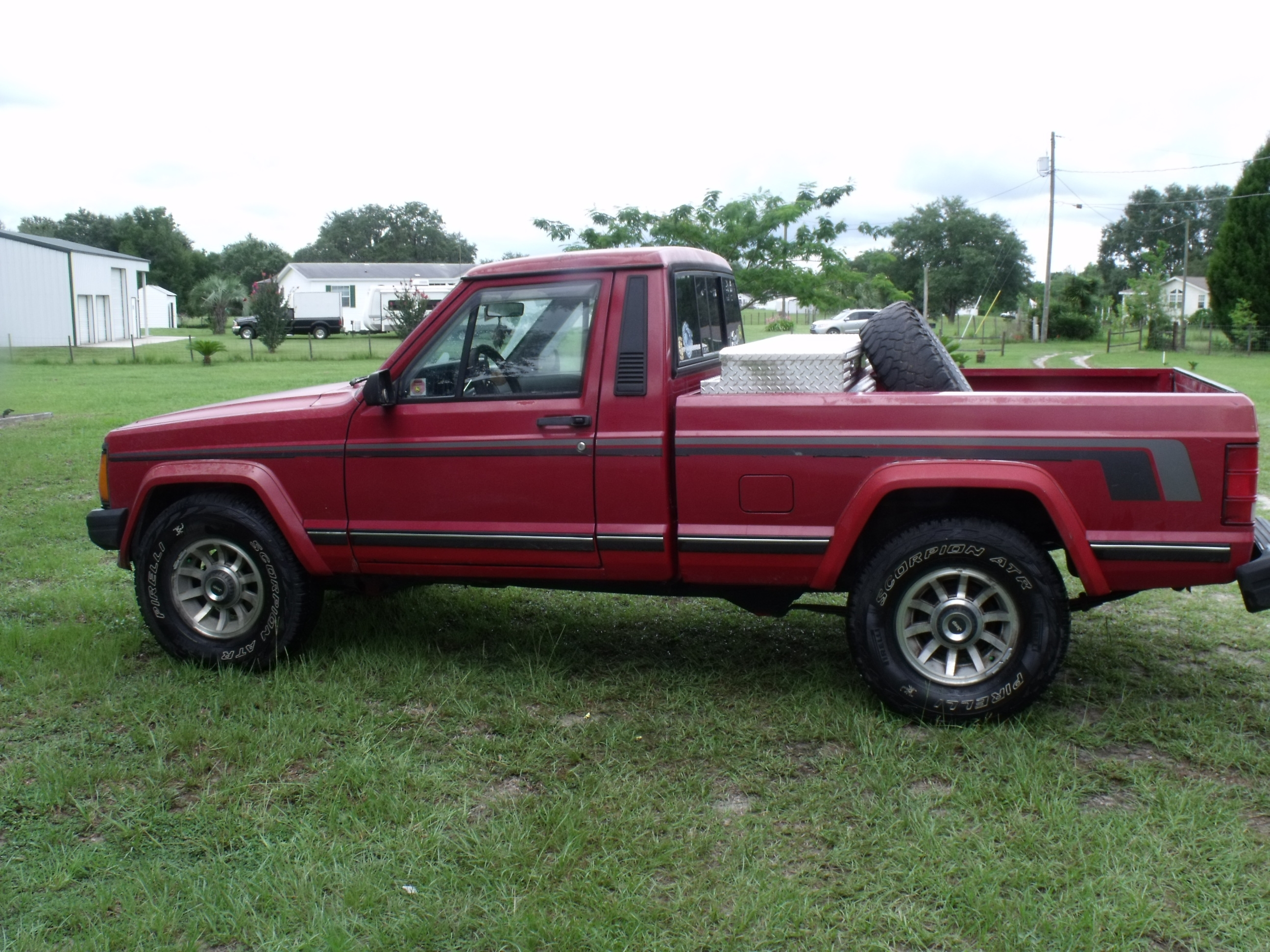 Btm24 1989 Jeep Comanche Regular Cab 14500702